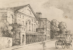 A Correct View of the Theatre at Philadelphia
